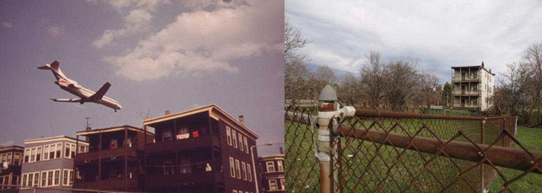 East Boston, MA 1973 & 2012. Michael P. Manheim