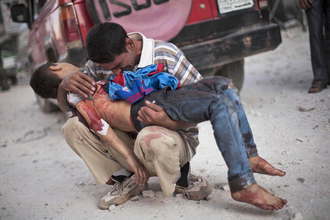CORRECTION Mideast Syria