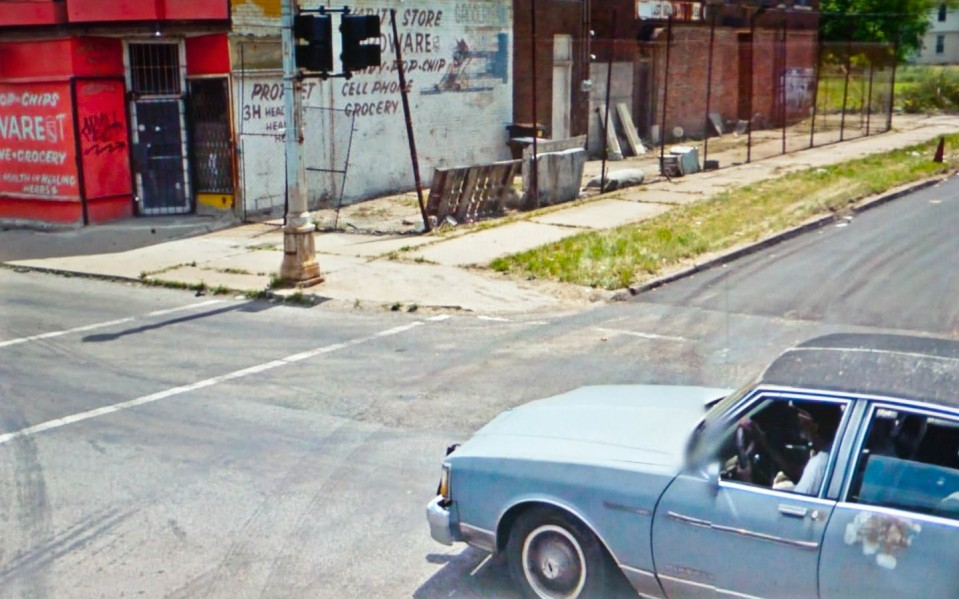 Doug Rickard, A New American Picture (Google Street View)