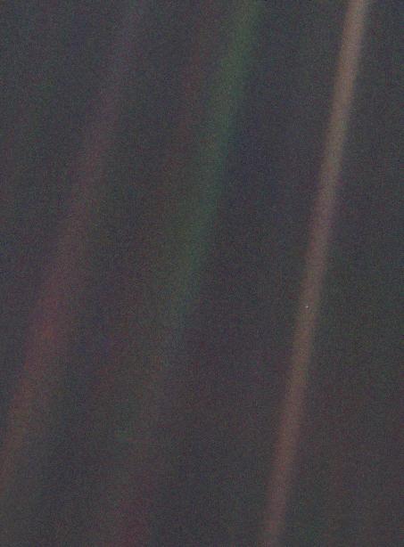 Pale Blue Dot, 1990