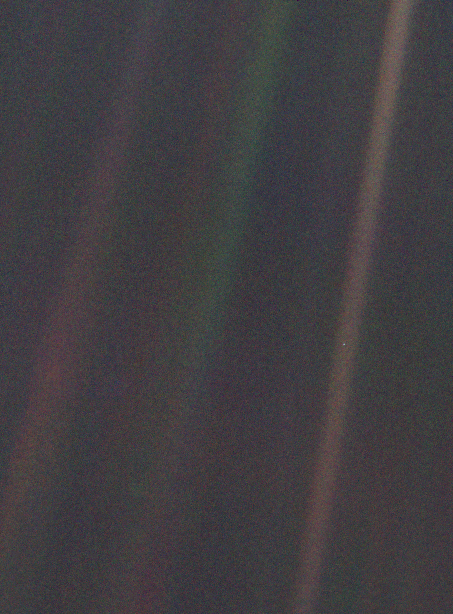 Pale Blue Dot, 1990