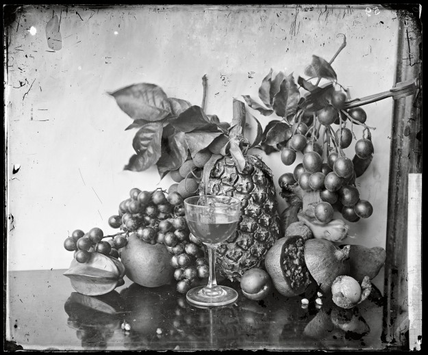 L0055514 Still life of fruit, Hong Kong.